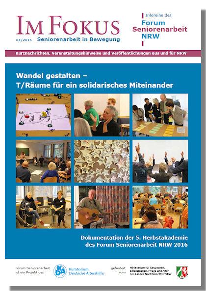Cover der Ausgabe 4/2016 Im Fokus
